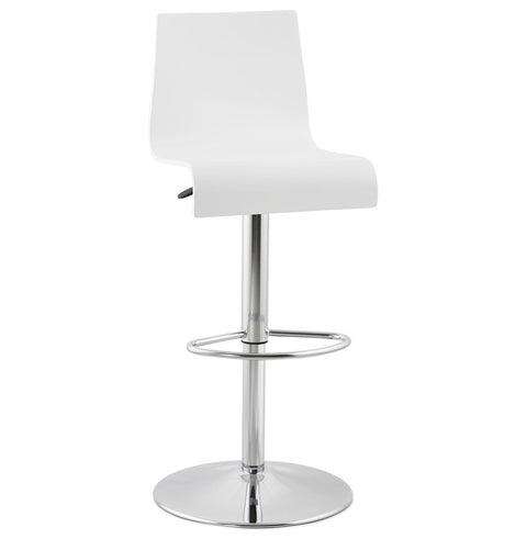 White Designer Kokoon Santana Bar Stool BS00930WH