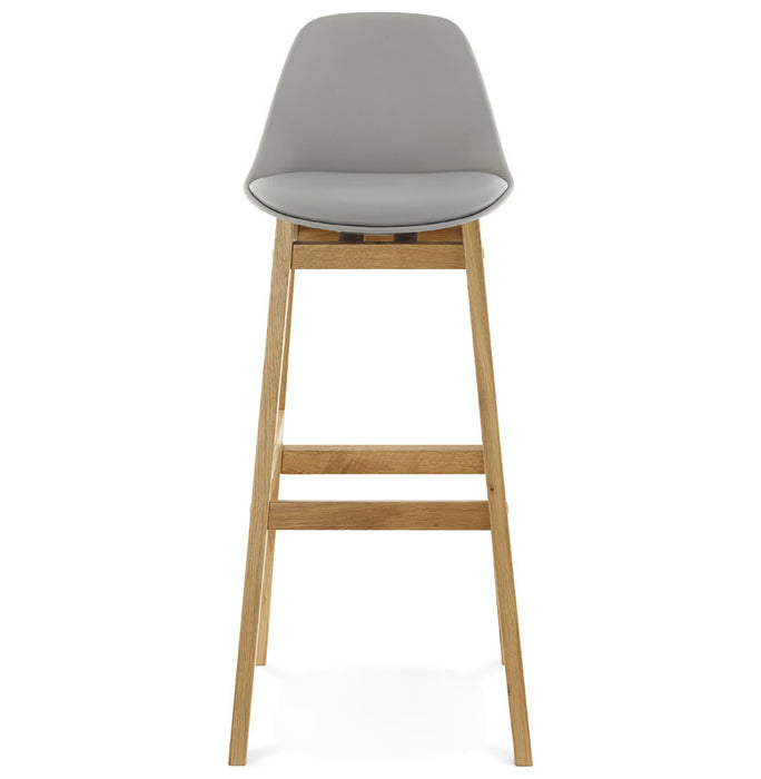 Grey Modern Kokoon Elody Bar Stool BS01170GRGR