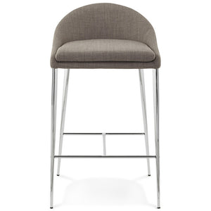 Grey Modern Kokoon Talon Bar Stool BS01180GR