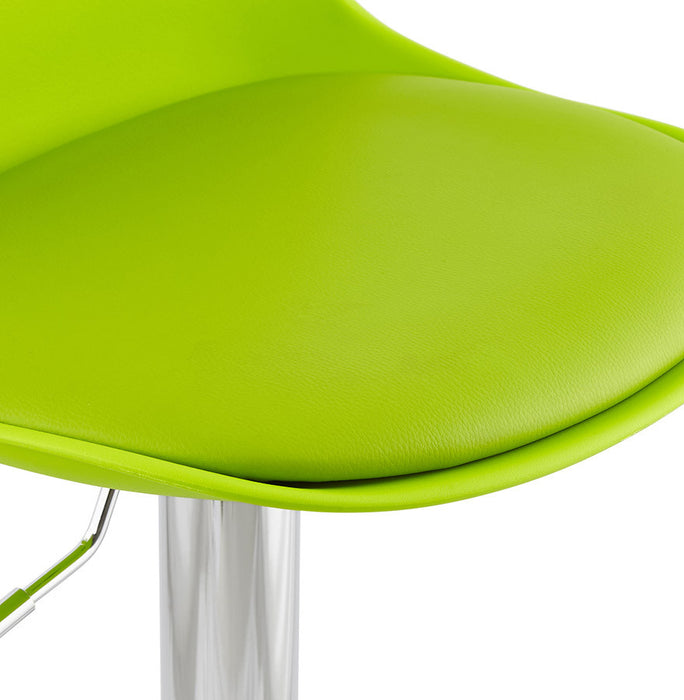 Green Modern Kokoon Suki Bar Stool BS01310GEGE