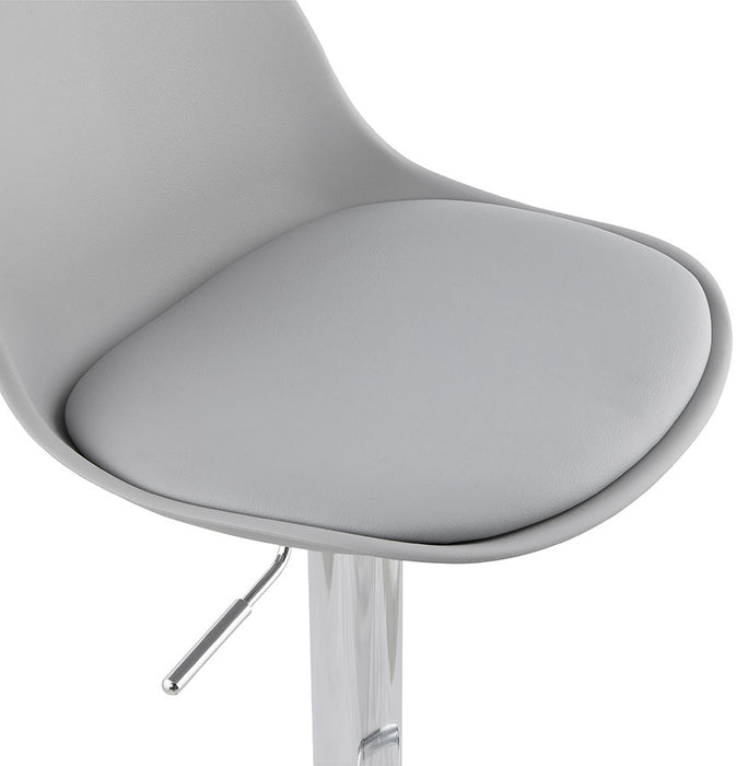 Grey Modern Kokoon Suki Bar Stool BS01320GRGR