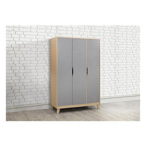 Beech & Grey Birlea Kingston 3 Door Wardrobe