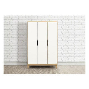 Beech & Whtie Birlea Kingston 3 Door Wardrobe