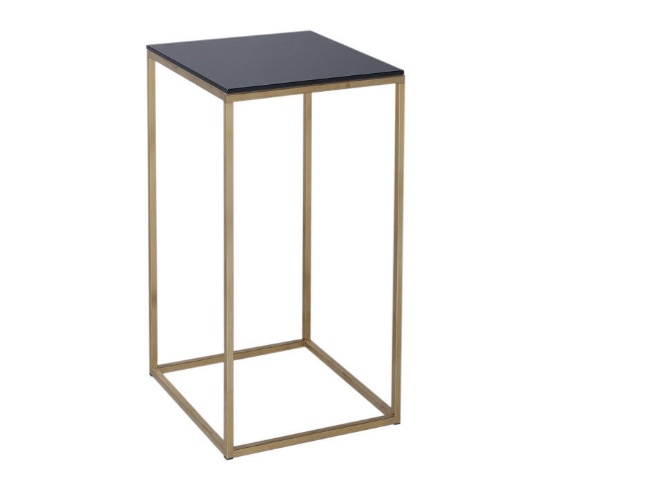 Black & Brass Gillmore Square Lamp Stand
