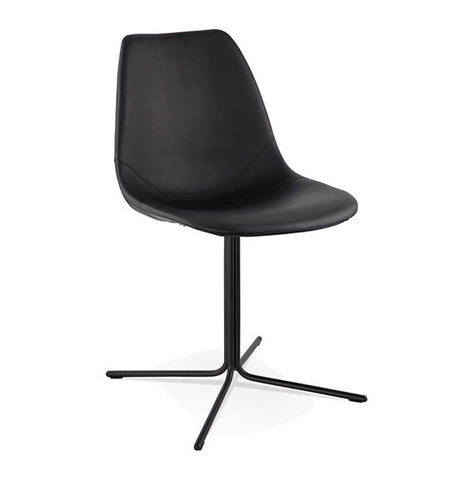 All Black Design Chair CH01570BLBL