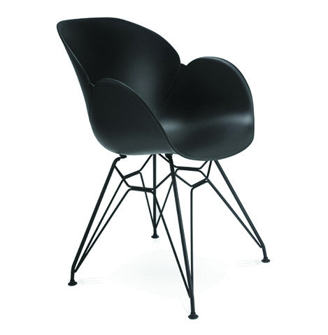 Black Design Armchair AC01480BL