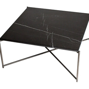 Black & Gun Metal Gillmore Square Coffee Table