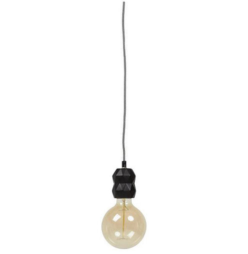 Black Ceiling Lamp HL00540BL