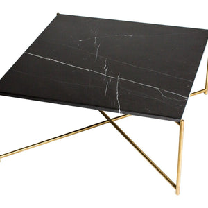 Black Marble Gillmore Square Coffee Table