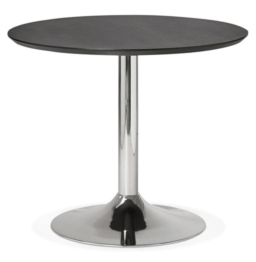 Black Modern Bleta 90 Dining Table