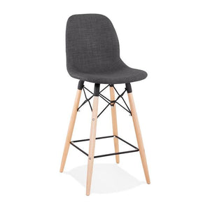 Black Modern Cana Mini Bar Stool