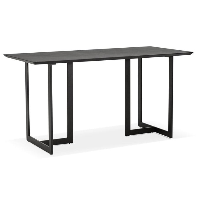 Black Modern Dorr Office Desk