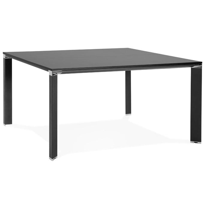 Black Modern Efyra Office Desk