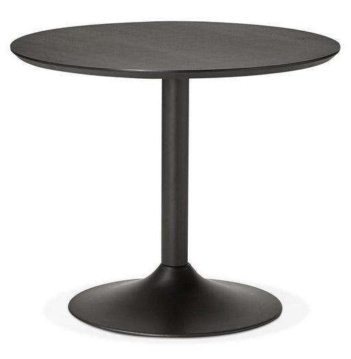 Black Modern Paton 90 Dining Table