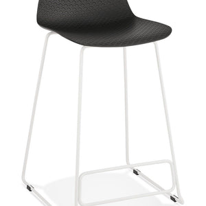 Black Modern Slade Mini Bar Stool