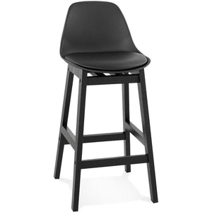 Black Modern Turel Mini Bar Stool