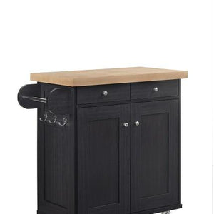 Black Portland Kitchen Sideboard