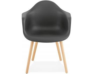 Black Retro Cloud Armchair