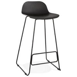 Black Slade Bar Stool