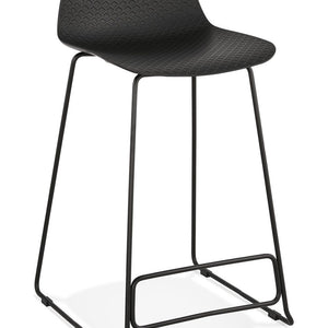 Black Slade Mini Bar Stool