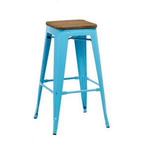 Blue Birlea Downtown Bar Stools (Sold in Fours)