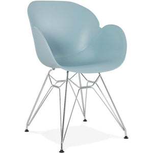 Blue Retro Chipie Armchair