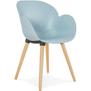 Blue Retro Sitwell Armchair