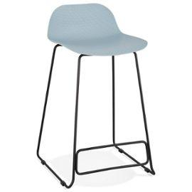 Blue Slade Mini Bar Stool