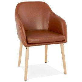 Brown Retro Madox Armchair