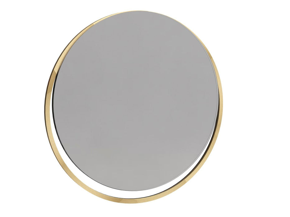 Brushed Brass Wall Hanging Mirror