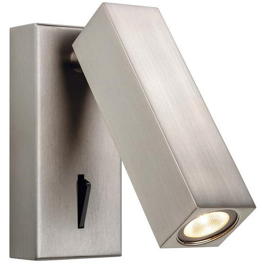 Brushed Nickel Solo LED Wall Light (Switched)