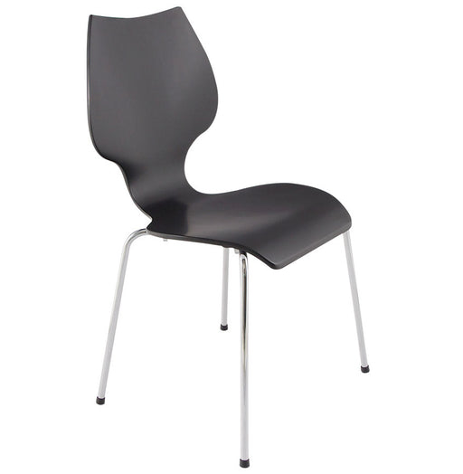 Black Modern Kokoon Elipse Dining Room Chair