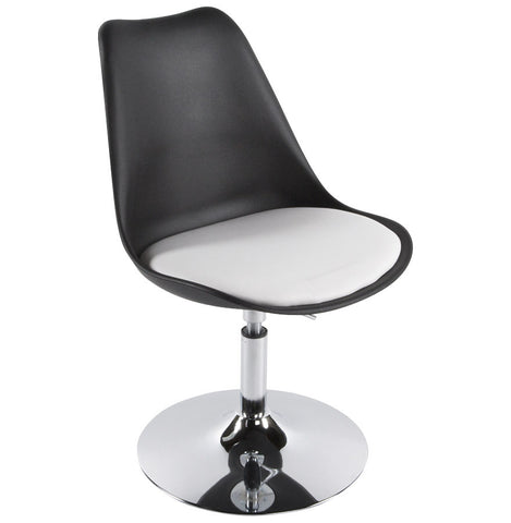 Black & White Retro Kokoon Victoria Dining Room Chair