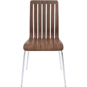 Modern Walnut Dining Room Chair