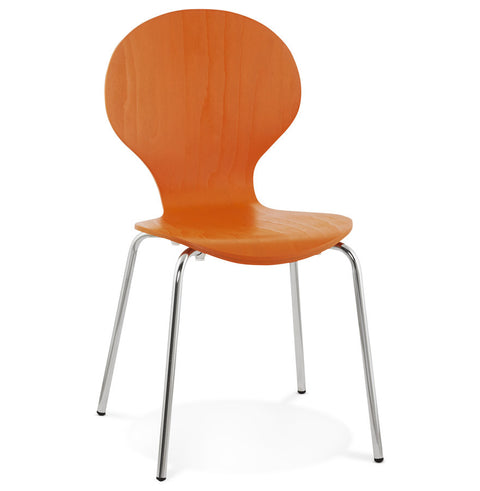 Orange Designer Kokoon Perry Dining Room Chair