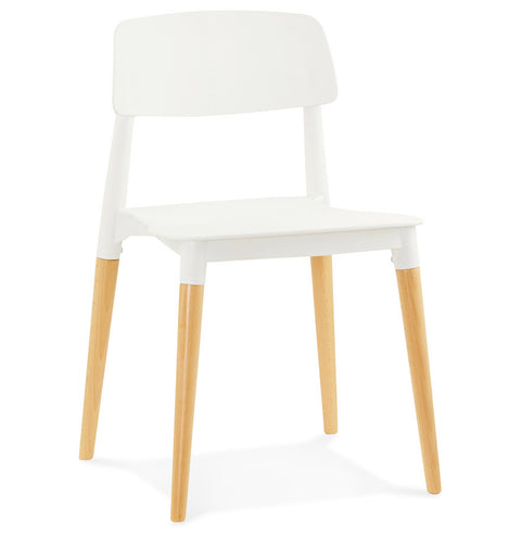 White Designer Kokoon Gorgeous Dining Room Chair