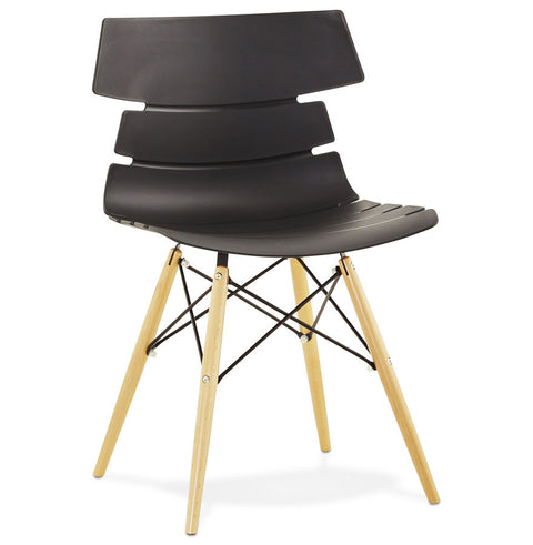 Black Modern Kokoon Strata Dining Room Chair