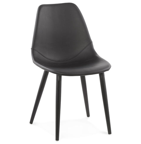 Black Retro Kokoon Wilson Dining Room Chair