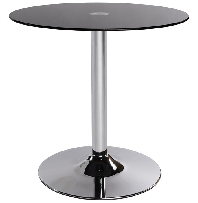 Black Modern Kokoon Vinyl Coffee Table CT00010BL