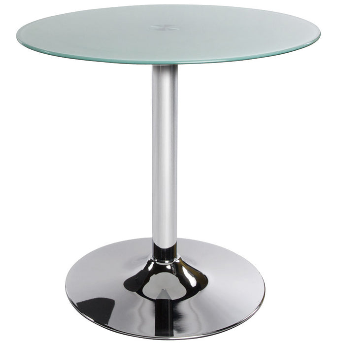 White Modern Kokoon Vinyl Coffee Table CT00030WH