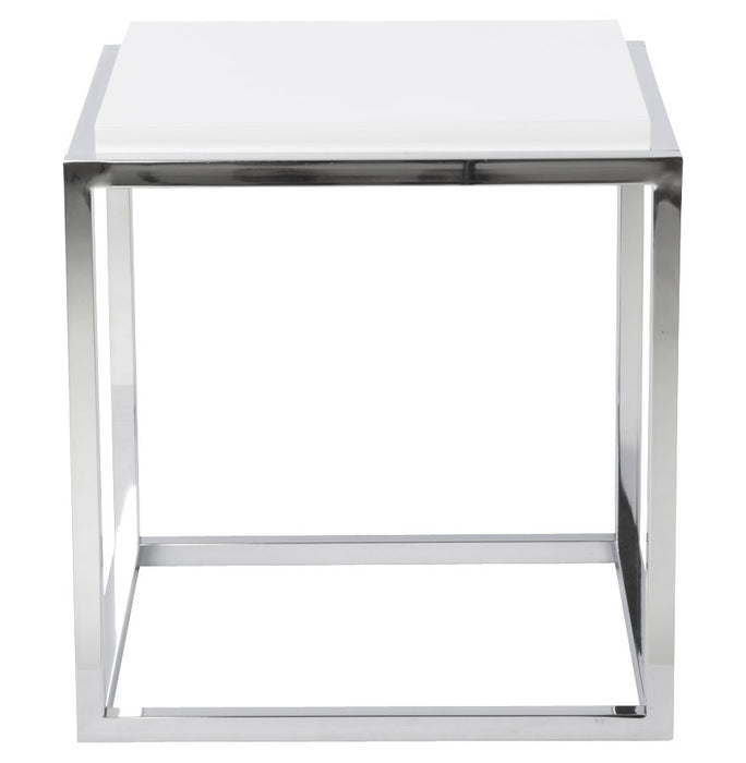 White Modern Kokoon Kvadra Table CT00290WH