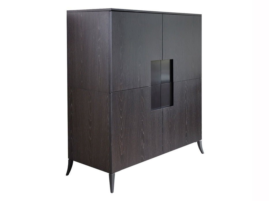 Charcoal Gillmore Square Drinks Cabinet