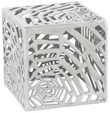 Silver Kokoon Tribal Side Table DK00380AL