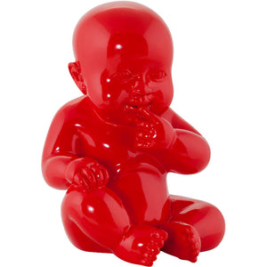 Red Modern Kokoon Sweety Decorative Statue DK00910RE