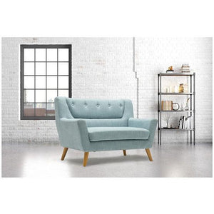 Duck Egg Blue Birlea Lambeth Medium Sofa