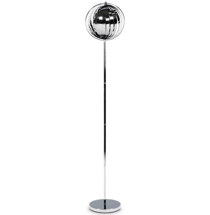Chrome Retro Big Floor Lamp