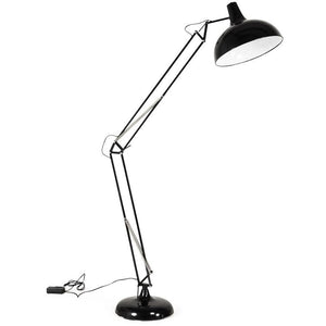 Black Retro Pix Floor Lamp