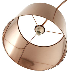 Copper Modern Floor Lamp