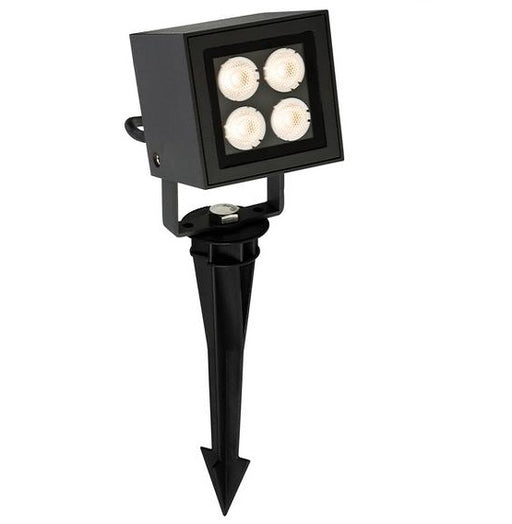 Graphite Outdoor LED Wall & Spike Spotlight