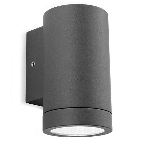 Graphite Shelby Single LED Wall Light
